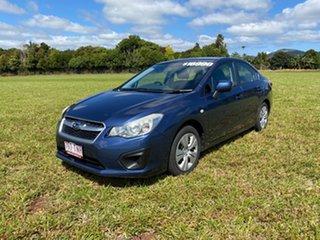 2013 Subaru Impreza MY13 2.0I-L (AWD) Blue Continuous Variable Sedan