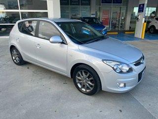 2011 Hyundai i30 FD MY11 SLX Silver 5 Speed Manual Hatchback.