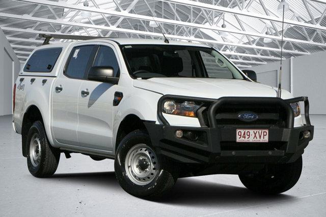 Used Ford Ranger PX MkII MY17 XL 3.2 (4x4) Eagle Farm, 2017 Ford Ranger PX MkII MY17 XL 3.2 (4x4) White 6 Speed Automatic Crew Cab Utility