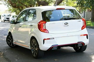 2021 Kia Picanto JA MY21 GT-Line Clear White 4 Speed Automatic Hatchback.