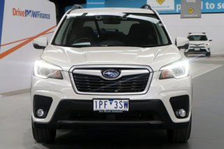 2019 Subaru Forester MY19 2.5I-L (AWD) White Continuous Variable Wagon
