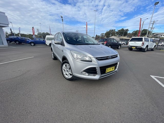 Pre-Owned Ford Kuga TF MY15 Ambiente AWD Cardiff, 2014 Ford Kuga TF MY15 Ambiente AWD Silver 6 Speed Sports Automatic Wagon