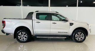 2017 Ford Ranger PX MkII Wildtrak Double Cab Silver, Chrome 6 Speed Sports Automatic Utility