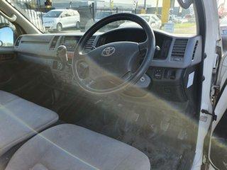 2007 Toyota HiAce KDH201R MY08 LWB White 5 Speed Manual Van