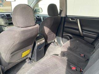 2012 Toyota Kluger GSU40R MY12 KX-R 2WD Silver 5 Speed Sports Automatic Wagon