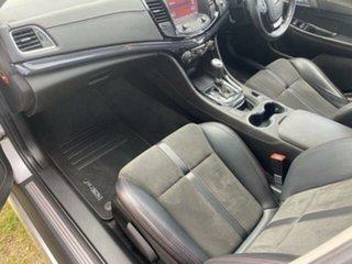 2016 Holden Commodore Vfii MY16 SV6 Black Edition Silver 6 Speed Automatic Sedan