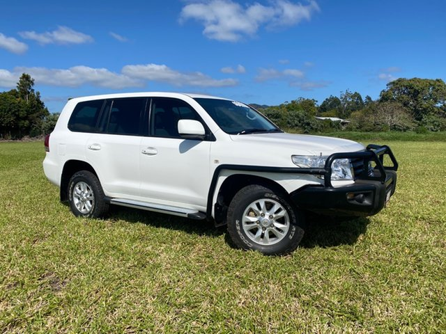 Pre-Owned Toyota Landcruiser VDJ200R 09 Upgrade GXL (4x4) Atherton, 2011 Toyota Landcruiser VDJ200R 09 Upgrade GXL (4x4) Glacier White 6 Speed Automatic Wagon