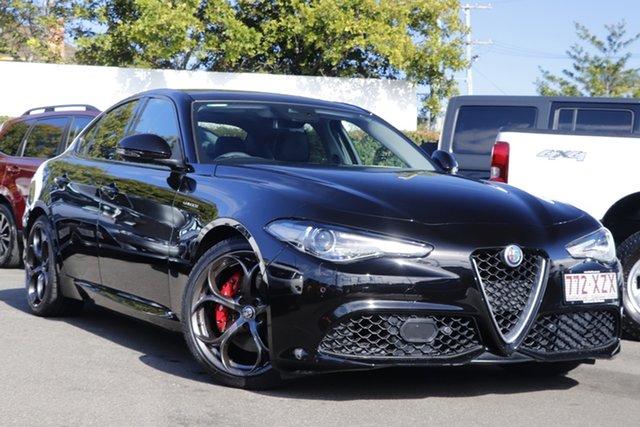 Used Alfa Romeo Giulia Veloce Mount Gravatt, 2017 Alfa Romeo Giulia Veloce Black 8 Speed Sports Automatic Sedan