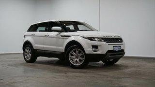 2013 Land Rover Range Rover Evoque L538 MY13.5 Si4 CommandShift Pure Tech White 6 Speed.