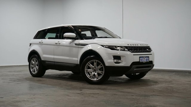 Used Land Rover Range Rover Evoque L538 MY13.5 Si4 CommandShift Pure Tech Welshpool, 2013 Land Rover Range Rover Evoque L538 MY13.5 Si4 CommandShift Pure Tech White 6 Speed