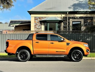 2019 Ford Ranger PX MkIII 2019.75MY Wildtrak Orange 10 Speed Sports Automatic Double Cab Pick Up.