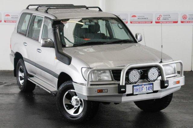 Pre-Owned Toyota Landcruiser HZJ105R GXL (4x4) Rockingham, 2001 Toyota Landcruiser HZJ105R GXL (4x4) Warm Silver 4 Speed Automatic 4x4 Wagon