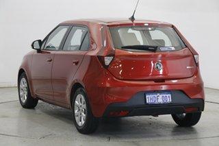 2020 MG MG3 SZP1 MY20 Core Bristol Red 4 Speed Automatic Hatchback