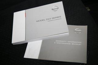 2015 Nissan Navara D23 ST Silver 6 Speed Manual Utility