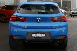2018 BMW X2 F39 sDrive20i Coupe DCT Steptronic M Sport Blue 7 Speed Sports Automatic Dual Clutch