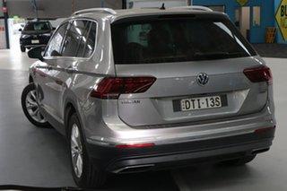 2017 Volkswagen Tiguan 5NA 162 TSI Highline Silver 7 Speed Auto Direct Shift Wagon.