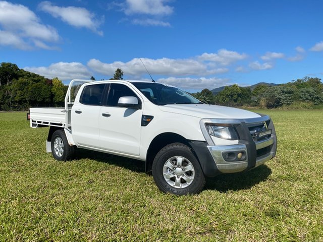 Pre-Owned Ford Ranger PX XLS 3.2 (4x4) Atherton, 2013 Ford Ranger PX XLS 3.2 (4x4) White 6 Speed Manual Double Cab Pick Up