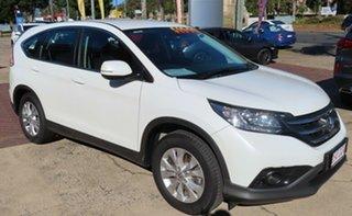 2014 Honda CR-V 30 MY14 DTI-S (4x4) White 6 Speed Manual Wagon.