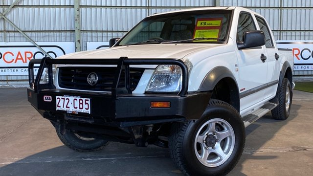 Used Holden Rodeo RA MY06 LT Crew Cab Rocklea, 2006 Holden Rodeo RA MY06 LT Crew Cab White 4 Speed Automatic Utility