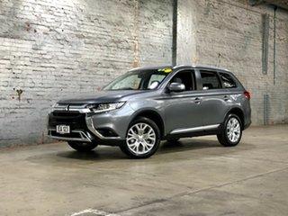 2020 Mitsubishi Outlander ZL MY20 ES 2WD Grey 6 Speed Constant Variable Wagon.