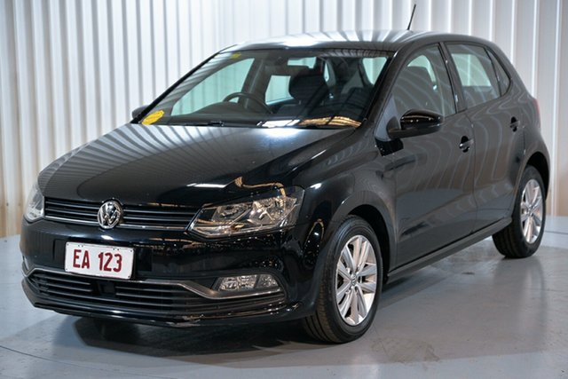 Used Volkswagen Polo 6R MY16 81TSI DSG Comfortline Hendra, 2015 Volkswagen Polo 6R MY16 81TSI DSG Comfortline Black 7 Speed Sports Automatic Dual Clutch