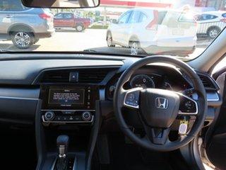 2017 Honda Civic MY16 VTi Silver Continuous Variable Sedan