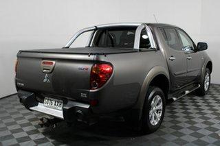2013 Mitsubishi Triton MN MY14 GLX-R Double Cab Ironbark 5 Speed Manual Utility.