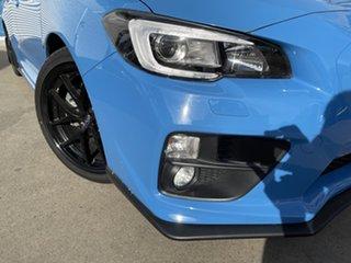 2016 Subaru WRX MY16 Premium Hyper Blue (AWD) Hyper Blue 8 Speed CVT Auto 8 Speed Sedan.