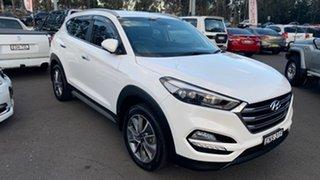 2017 Hyundai Tucson TL2 MY18 Elite D-CT AWD White 7 Speed Sports Automatic Dual Clutch Wagon.