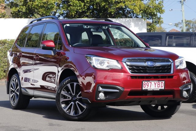 Used Subaru Forester S4 MY18 2.5i-S CVT AWD Mount Gravatt, 2018 Subaru Forester S4 MY18 2.5i-S CVT AWD Red 6 Speed Constant Variable Wagon