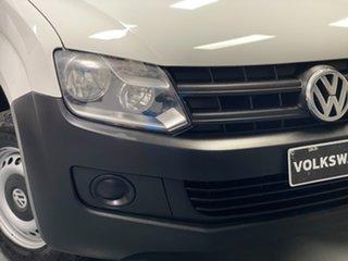 2013 Volkswagen Amarok 2H MY13 TSI300 4x2 White 6 Speed Manual Utility.