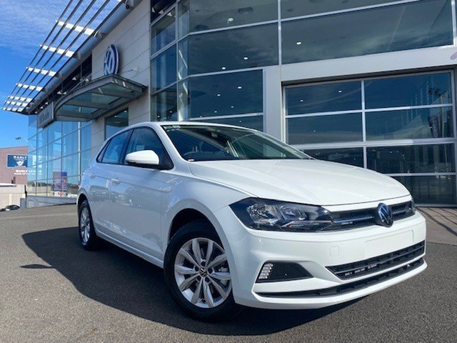 Demo Volkswagen Polo AW MY21 85TSI DSG Comfortline Brookvale, 2021 Volkswagen Polo AW MY21 85TSI DSG Comfortline Pure White 7 Speed Sports Automatic Dual Clutch