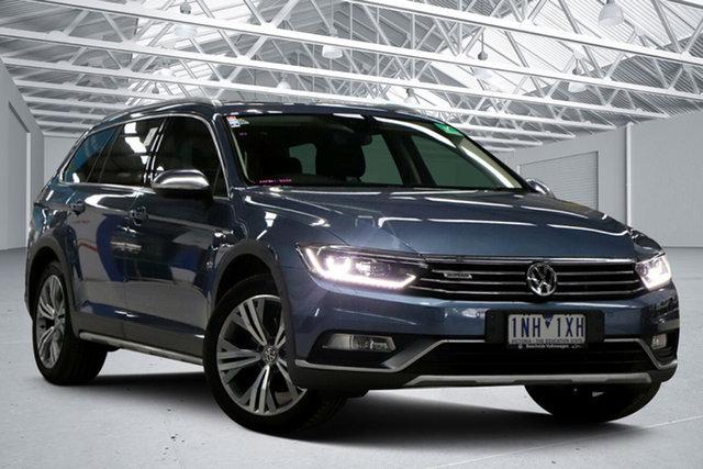 Used Volkswagen Passat 3C MY17 Alltrack 140 TDI Altona North, 2017 Volkswagen Passat 3C MY17 Alltrack 140 TDI Blue 6 Speed Direct Shift Wagon