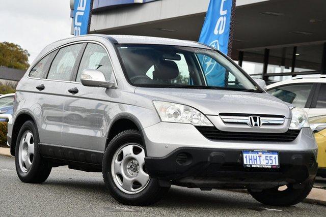 Used Honda CR-V RE MY2007 4WD Melville, 2009 Honda CR-V RE MY2007 4WD Silver 6 Speed Manual Wagon