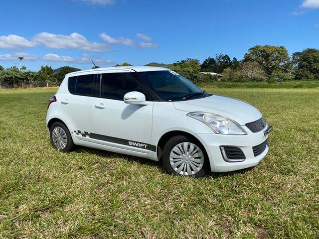 Pre-Owned Suzuki Swift FZ MY13 GL Atherton, 2014 Suzuki Swift FZ MY13 GL White 4 Speed Automatic Hatchback
