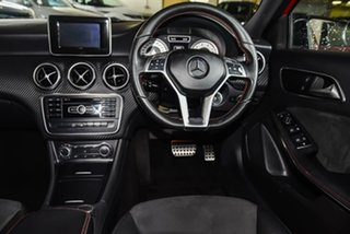 2015 Mercedes-Benz A-Class W176 806MY A180 D-CT Red 7 Speed Sports Automatic Dual Clutch Hatchback