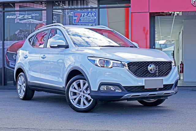 New MG ZS AZS1 MY21 Excite 2WD Springwood, 2021 MG ZS AZS1 MY21 Excite 2WD White 4 Speed Automatic Wagon