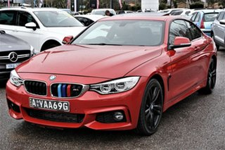 2014 BMW 4 Series F32 435i Red 8 Speed Sports Automatic Coupe