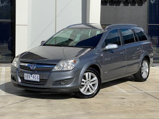 2008 Holden Astra AH MY08 CDX Grey 5 Speed Manual Wagon.
