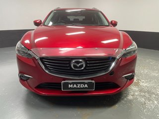 2017 Mazda 6 GL1021 GT SKYACTIV-Drive Red 6 Speed Sports Automatic Wagon.