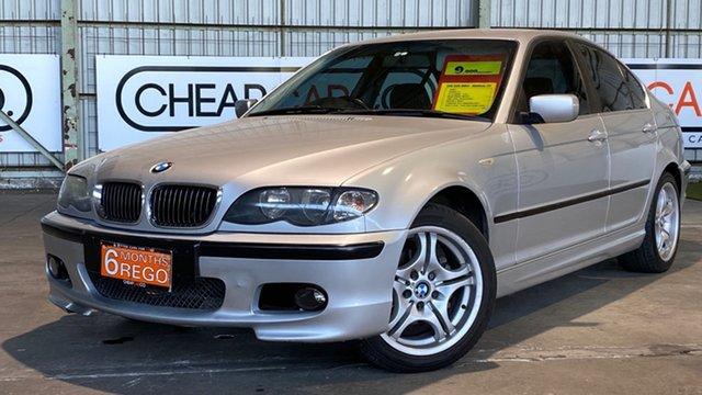 Used BMW 320i E46 MY2002 320i Rocklea, 2002 BMW 320i E46 MY2002 320i Silver 5 Speed Manual Sedan