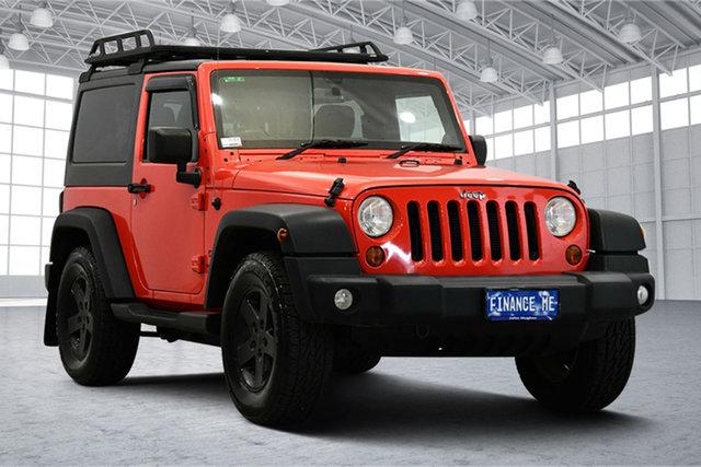 Used Jeep Wrangler JK MY2014 Sport Victoria Park, 2013 Jeep Wrangler JK MY2014 Sport Rock Lobster 5 Speed Automatic Softtop