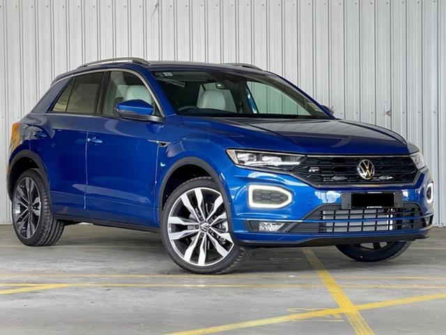 New Volkswagen T-ROC A1 MY21 140TSI DSG 4MOTION Sport Moorabbin, 2021 Volkswagen T-ROC A1 MY21 140TSI DSG 4MOTION Sport Blue 7 Speed Sports Automatic Dual Clutch