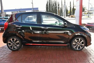 2020 Kia Picanto JA MY21 GT Aurora Black Pearl 5 Speed Manual Hatchback