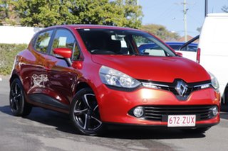 2015 Renault Clio IV B98 Expression EDC Red 6 Speed Sports Automatic Dual Clutch Hatchback.