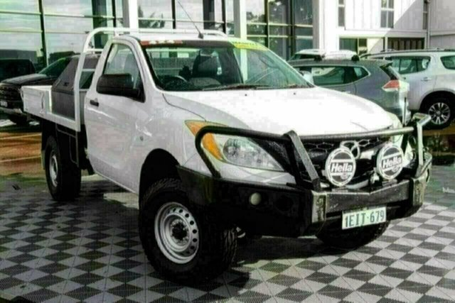 Used Mazda BT-50 UP0YF1 XT Attadale, 2013 Mazda BT-50 UP0YF1 XT White 6 Speed Manual Cab Chassis
