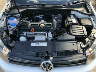 2011 Volkswagen Golf VI MY11 90TSI Trendline White 6 Speed Manual Hatchback