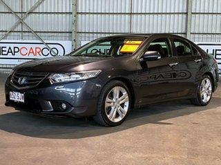 2012 Honda Accord Euro CU MY12 Luxury Navi Black 5 Speed Automatic Sedan.