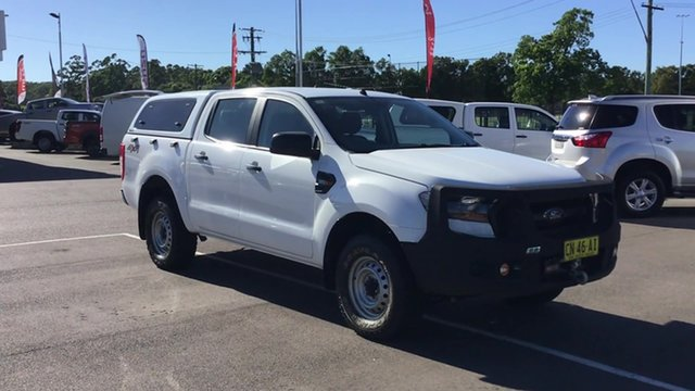 Pre-Owned Ford Ranger PX MkII XL Cardiff, 2017 Ford Ranger PX MkII XL White 6 Speed Sports Automatic Utility