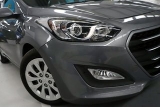 2015 Hyundai i30 GD3 Series 2 Active Grey 6 Speed Automatic Hatchback.